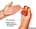 Diabetic emergency supplies