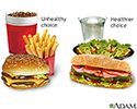 Fast food tips
