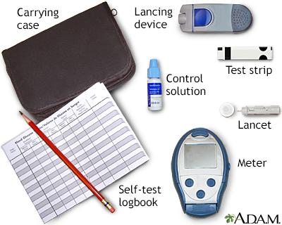 diabetes testing machine without strips